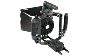 1-Filmcity-Video-camera-cage-with--matte-box-power